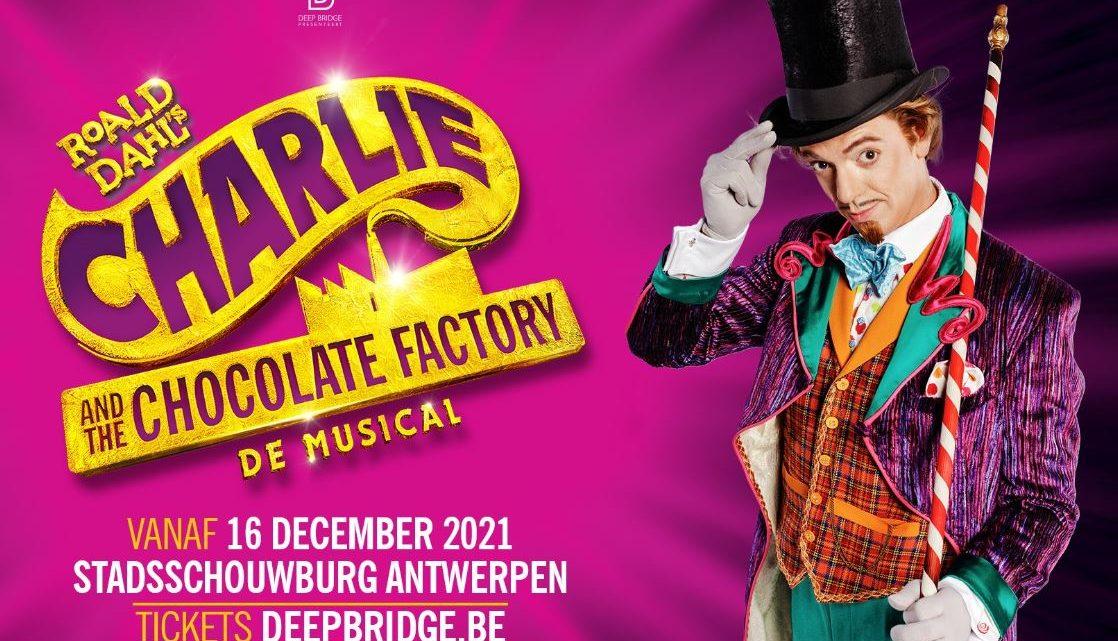 Nordin De Moor wordt 'Willy Wonka' in 'Charlie and the Chocolate Factory'