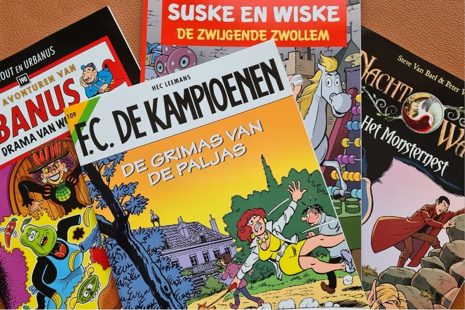 Vlaamse striphelden beleven knotsgekke avonturen