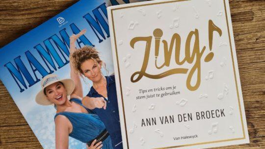Musicalster Ann Van den Broeck leert je zingen