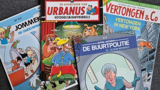 Grote striphelden beleven weer spannende avonturen
