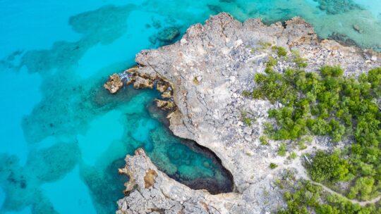 Wegdromen bij honderden tinten blauw op St. Maarten