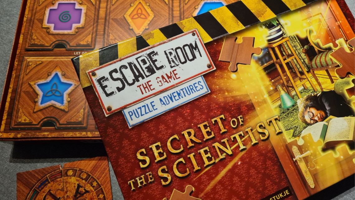 Ontrafel het geheim van de wetenschap in 'Escape Room The Game: Puzzle Adventures – Secret of the Scientist'