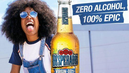 Met Desperados 0.0% ga je voluit voor plezier