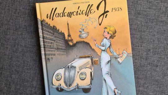 Mademoiselle J. – Ik zal nooit trouwen: vrouwvriendelijke strip in de sfeer van de jaren 30