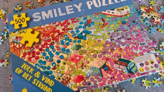 Smiley Puzzel: Puzzelen met een glimlach