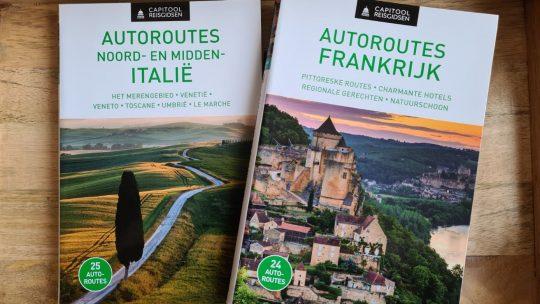 Verken Frankrijk en Italië op eigen tempo met de uitgestippelde autoroutes van Capitool Reisgidsen