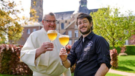 Na meer dan 200 jaar wordt er opnieuw bier gebrouwen in de Abdij van Grimbergen