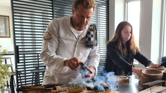 'Dinner with the Queen' combineert klimaatbewustzijn met culinaire belevenis