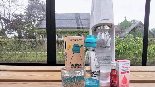 Met SodaStream maak je op een duurzame manier zelf heerlijk bruisend water