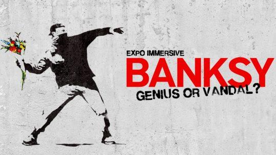 'Banksy: Genius or Vandal' brengt streetart van Banksy naar hartje Brussel