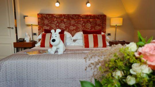 Hotel Amigo verwelkomt je in een unieke Kuifje-suite