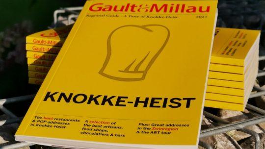 Gault&Millau bundelt culinaire trekpleisters van Knokke-Heist in unieke gids
