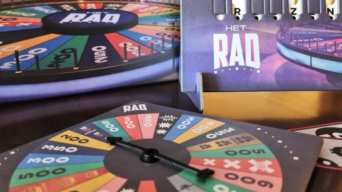 Nieuw bordspel van 'Het Rad' brengt het meest legendarische spelprogramma bij je thuis