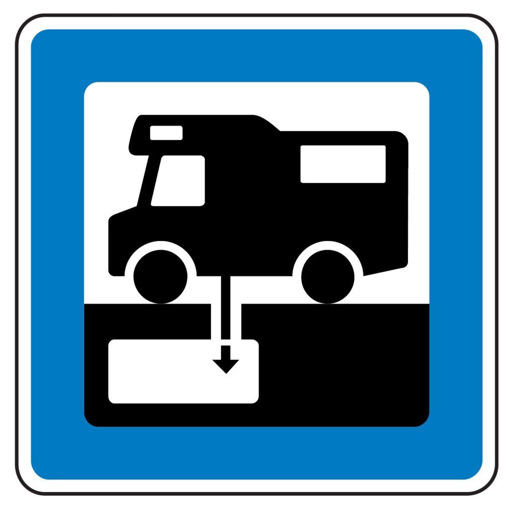 Opdateret kort med autocamperservice