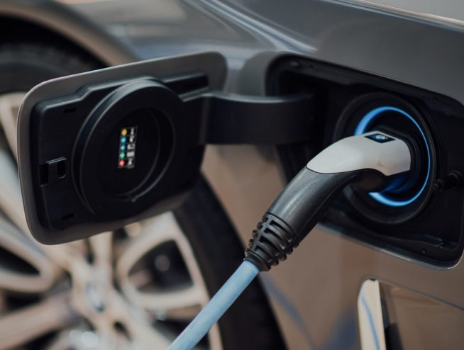 electric car charging point installation
