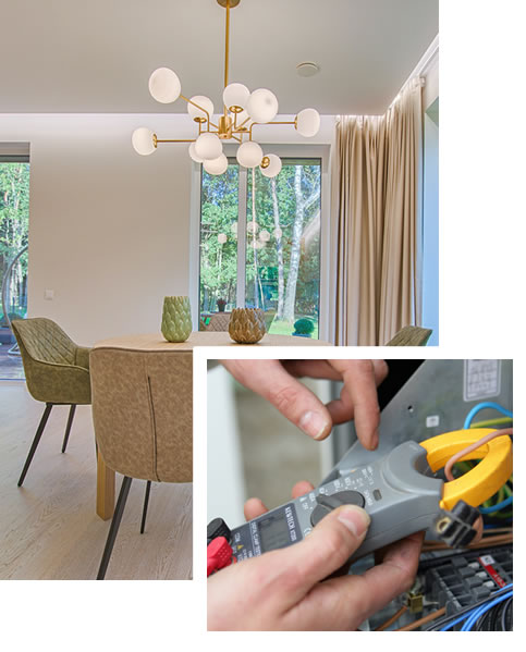 light fittings in homes