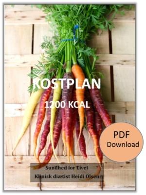 Kostplan - 1200 kcal