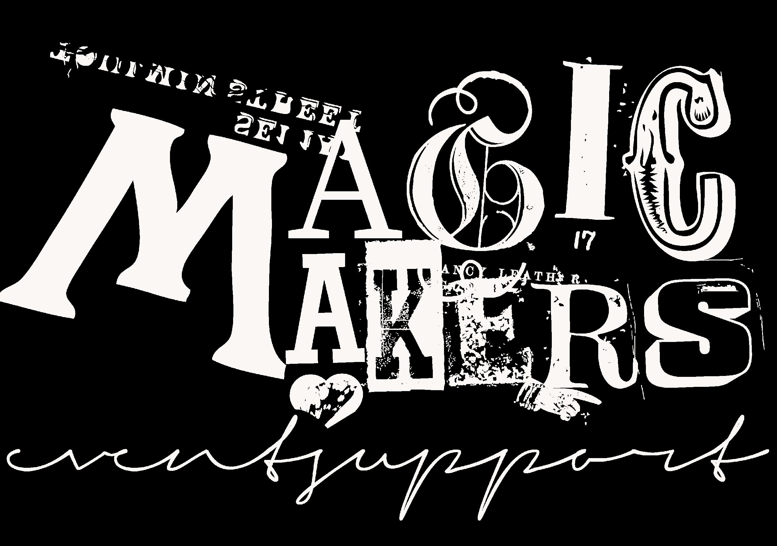 logo Magic Makers white