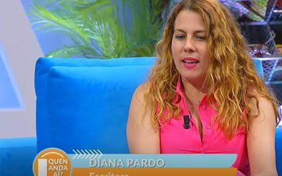 Abril visita el programa Quen anda ahí, de Televisión Galicia