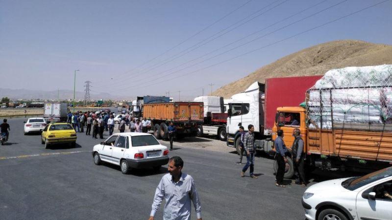 در پی اعتصاب سراسری کامیونداران و رانندگان؛ پیشنهاد افزایش ۲۰ درصد کرایه از سوی دولت