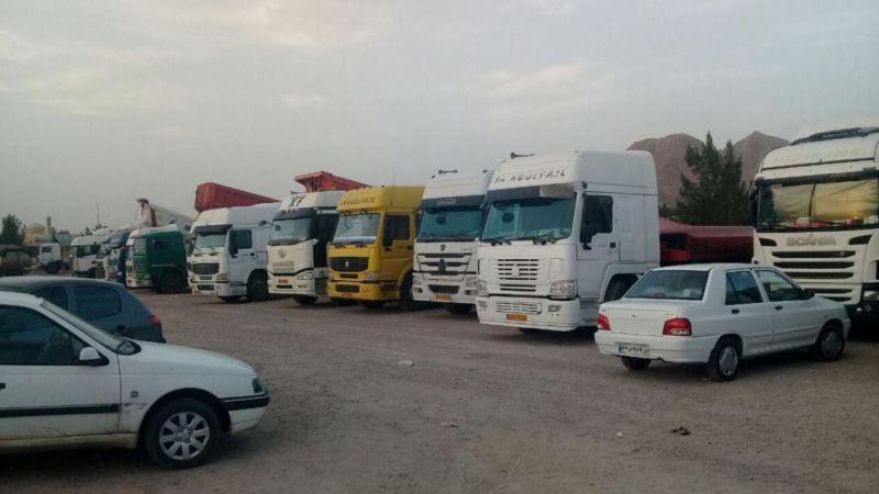 اعتصاب رانندگان و کامیون داران در ششمین روز نیز ادامه یافت