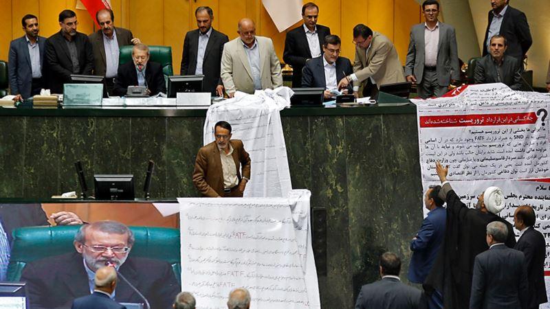 تعلیق الحاق ایران به کنوانسیون بینالمللی مقابله با تامین منابع مالی گروههای تروریستی