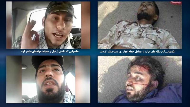 داعش ویدئو از «عوامل حمله روز شنبه اهواز» منتشر کرد
