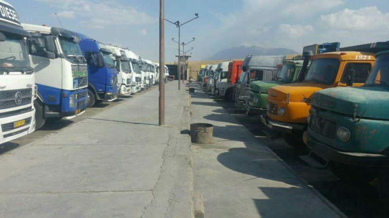 گزارش العربیه: درک اعتصاب سراسری رانندگان کامیون در ایران