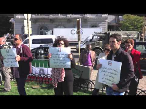 اکسیون بروکسل ۲۹ سپتامبر: شاهرخ زمانی: فعال استقرار قدرت اجتماعی در ایران