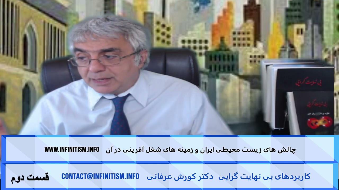 چالش های زیست محیطی ایران و زمینه های شغل آفرینی در آن (قسمت دوم) – دکتر کورش عرفانی