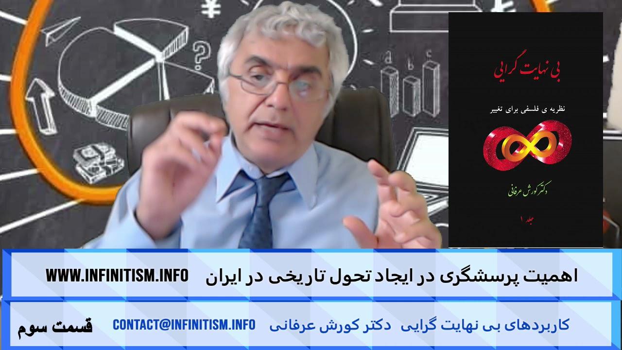 اهمیت پرسشگری در ایجاد تحول تاریخی در ایران (قسمت سوم) – دکتر کورش عرفانی