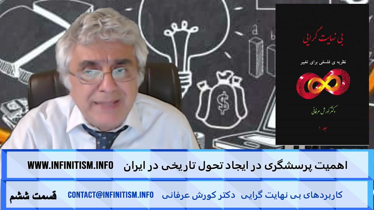 اهمیت پرسشگری در ایجاد تحول تاریخی در ایران (قسمت ششم) – دکتر کورش عرفانی