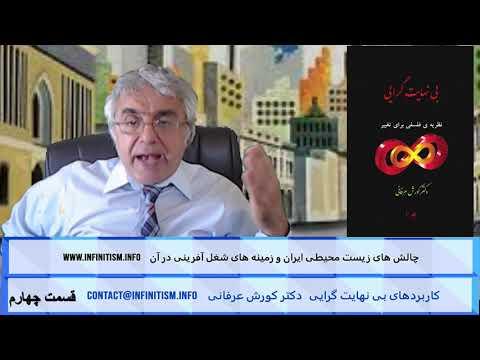 چالش های زیست محیطی ایران و زمینه های شغل آفرینی در آن (قسمت چهارم) – دکتر کورش عرفانی