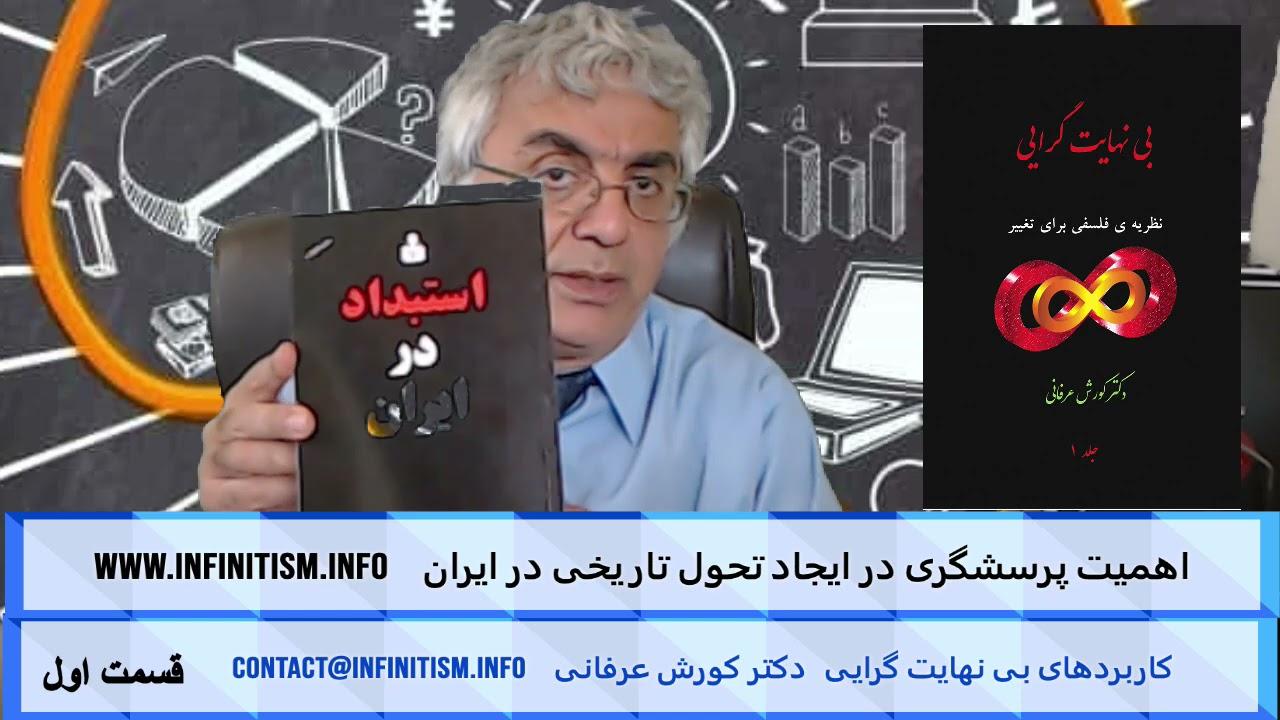 اهمیت پرسشگری در ایجاد تحول تاریخی در ایران (قسمت اول) – دکتر کورش عرفانی