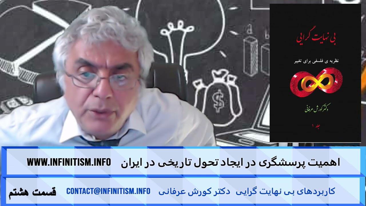 اهمیت پرسشگری در ایجاد تحول تاریخی در ایران (قسمت هشتم) – دکتر کورش عرفانی