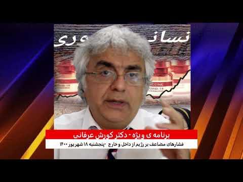 برنامه ی ویژه  (۲۲۳) – فشارهای مضاعف بر رژیم از داخل و خارج – دکتر کورش عرفانی