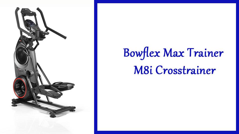 Fitnessapparatuur, Bowflex Max Trainer M8i Crosstrainer