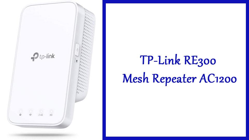 TP-Link RE300 Mesh Repeater AC1200   wifiversterker