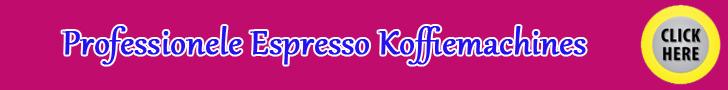 Professionele Espresso Koffiemachines