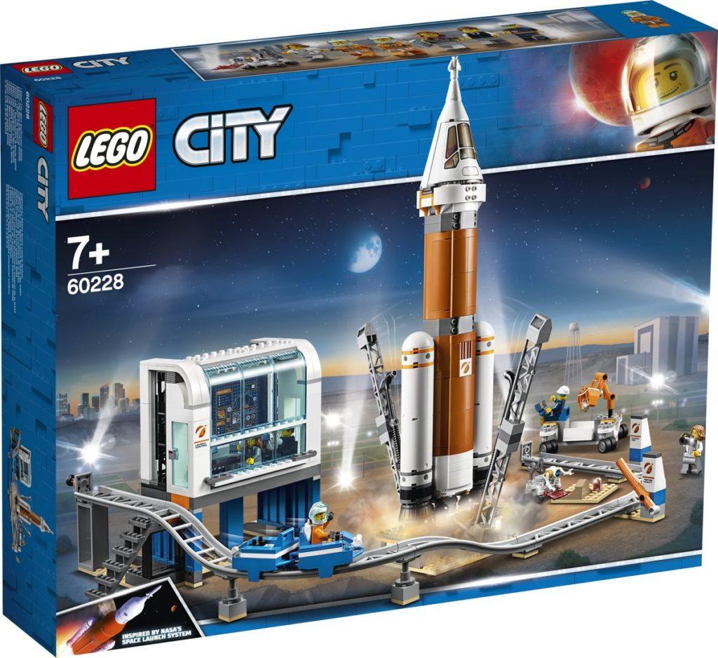 lego city ruimtevaart: Ruimteraket en Vluchtleiding - 60228 Pro