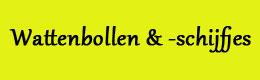 Bestsellers in Babyproducten: Wattenbollen & -schijfjes