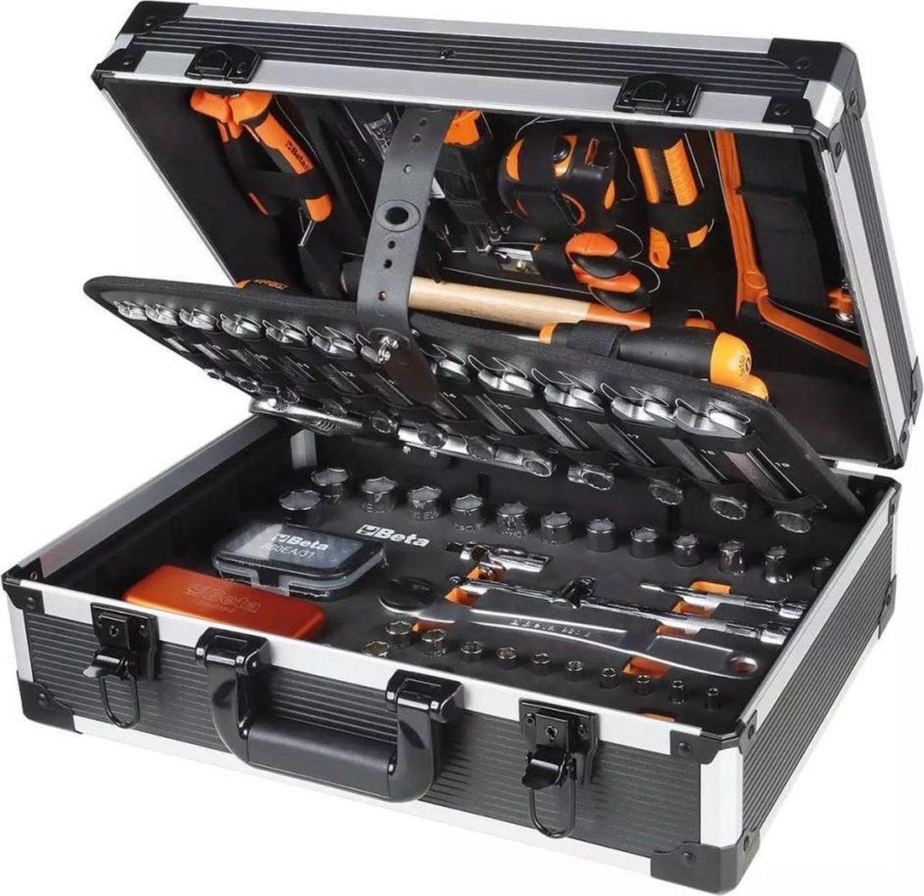 Beta Tools Easy Gereedschapskoffer 146-delig 2056E/E aluminium