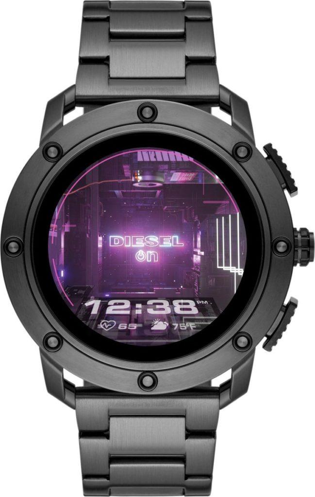 Diesel On Axial Gen 5 Display Smartwatch DZT2017 - Gunmetal  Hybride horloges heren