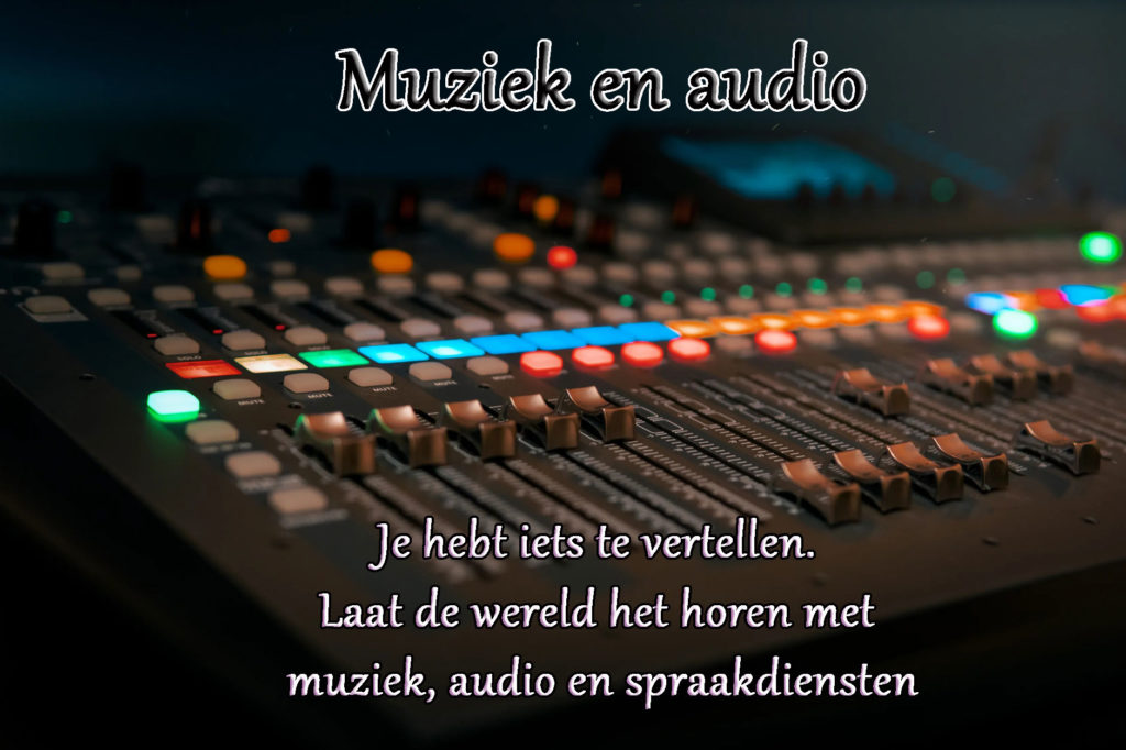 digital services: Muziek en audio