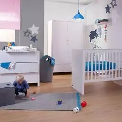 Babykamer Quadro White een geliefde kamer