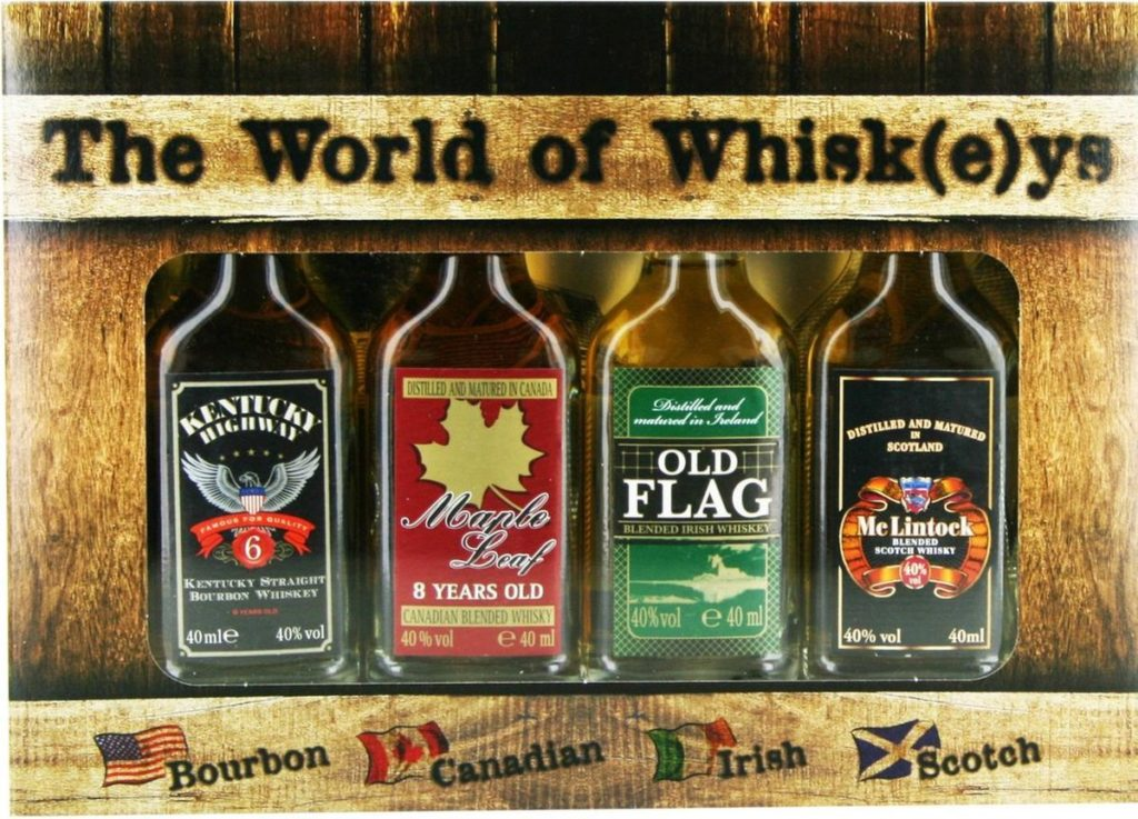 Bestsellers Whisky