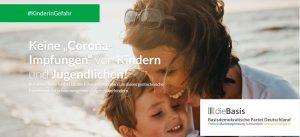 """Read more about the article Keine """"CORONA-Impfungen"""" von Kinder und Jugendlichen!"""