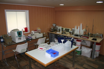Laboratorium apparatuur Dierenkliniek Othene Terneuzen