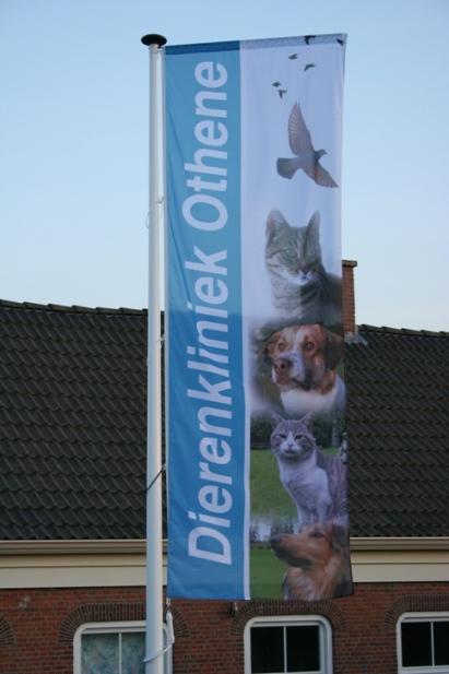 Dierenkliniek-Othene vlag Othene Terneuzen