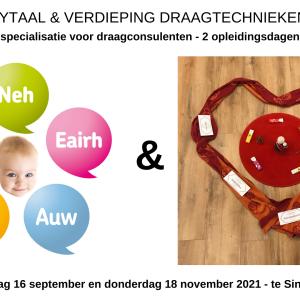 Dunstan babytaal & Verdieping draagtechnieken jonge baby